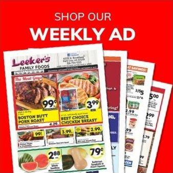 Leeker's | Weekly Ad